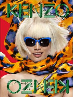 Fashion Blog: Kenzo Eyewear 2013   #mido