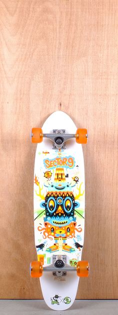 """Sector 9 32"""" Party Time longboard Complete Bottom"""