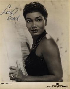Pearl Bailey as a fine young woman, via afro.art.chick