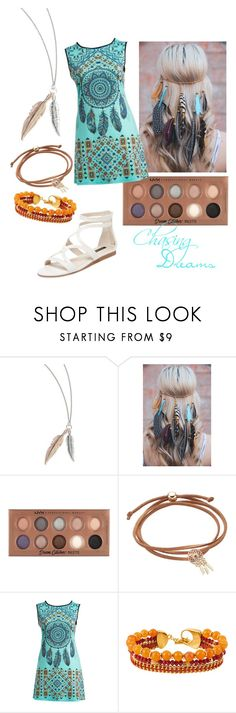 """Dream Catcher"" by tekikato ❤ liked on Polyvore featuring NYX, Poliana Plus, Henri Bendel and Ava & Aiden"