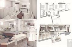 Ejemplos de paneles resumen de Interiorismo y Decoración - Recursos Interior: Autocad, descargas .dwg, ideas, diseño, bloques 3D