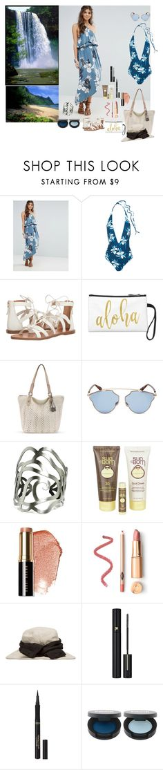 """Aloha"" by lulu13nyc ❤ liked on Polyvore featuring Somedays Lovin, Mikoh, Tommy Bahama, Christian Dior, Sun Bum, Bobbi Brown Cosmetics, Y's by Yohji Yamamoto, Lancôme and L'Oréal Paris"