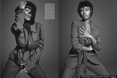 Nicki Minaj Is Unrecognizable In Menswear Looks For L'Uomo Vogue