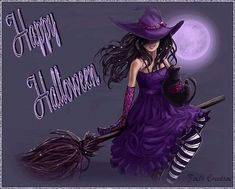 Halloween QUOTATION - Image : Quotes about Halloween - Description Happy Halloween halloween halloween pictures halloween images halloween gifs halloween quotes halloween photos Sharing is Caring - Hey can you Share this Happy Halloween Pictures, Halloween Images, Halloween Quotes, Witch Pictures, Purple Halloween, Halloween Ii, Halloween Treats, Halloween Witches, Halloween Candelabra
