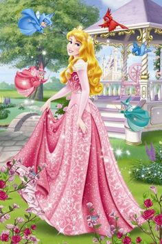 Disney Princess Puzzles, Disney Princesses And Princes, Disney Princess Drawings, Disney Princess Pictures, Disney Drawings, Princesa Disney Aurora, Disney Princess Aurora, Disney Princess Party, Disney Princess Dresses