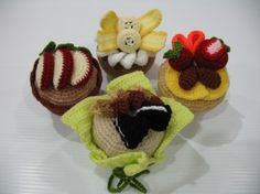 Crochet Pattern Delicious MUFFIN Play Food/Toys par skymagenta