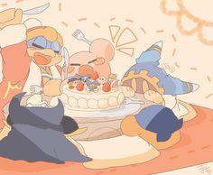 カービィWii5周年おめでとう! そしてマホロアちゃん誕生日おめでとう! どうか、きみがほんとうの友達と居られて今 楽しく過ごせていますように*.