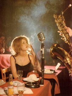 Go to a jazz club