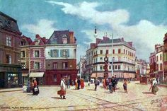 Postcards of the Past - Vintage Postcards of Amiens, Somme, France