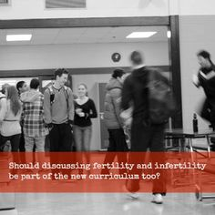 Should discussing fertility & infertility be part of the new curriculum too? #ohip4ivf #onpoli