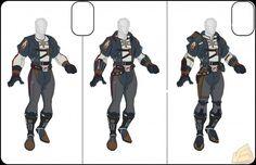 SW:ToR bounty hunter suit designs
