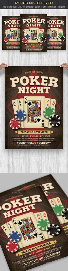 Poker Tournament Flyer Template Official Website Httpthats - Poker tournament flyer template word