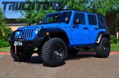 Cool Blue 2012 Jeep