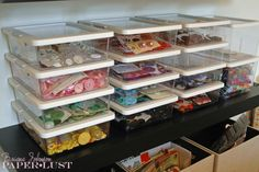 Paper Lust: Scrapbook Room, Organization, Part 2