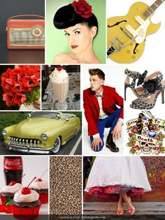 Rockabilly mood for a wedding / Cute Rockabilly Wedding Ideas