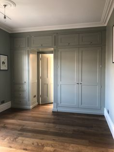 Mark McEvoy Interiors, Quality Carpentry and Joinery, Teddington, Middlesex Wall Wardrobe Design, Wardrobe Wall, Bedroom Built In Wardrobe, Fitted Bedroom Furniture, Fitted Bedrooms, Bedroom Closet Design, Master Bedroom Closet, Home Bedroom, Bedroom Wall Cabinets