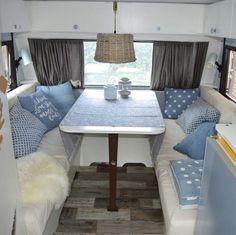 caravan Predom Ikea gordijnen, alles zelfgemaakt ! | RV interior ...