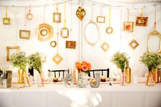 table of honnor, rustic chic wedding, outdoor wedding, tent, gold, blush, pink