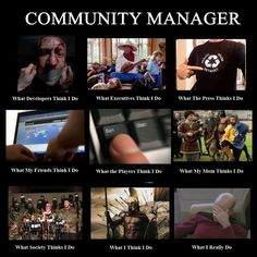 Community Manager (fun)