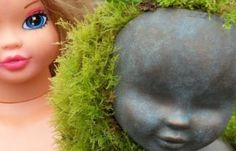 Turn Old Dolls Into Beautiful Garden Decorations