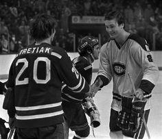 L'armée Rouge (URSS) vs les Canadiens de Montréal le 31 décembre 1975 : À 4:04 de la troisième période, Boris Aleksandrov complète la marque de cette rencontre qui ne fera pas de maître, mais qui restera à tout jamais gravé dans la mémoire collective. Ce match épique de 3 à 3 est d'ailleurs considéré par plusieurs comme le plus excitant jamais disputé.