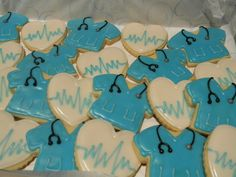 Nurse cookies for Jessica.