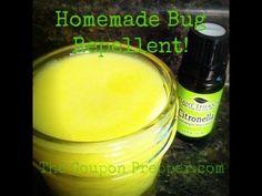 How to Make Homemade Bug Repellent!