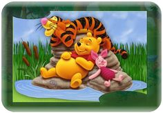 winnie the pooh - Yahoo Image Search Results Pooh Bear, Tigger, Tweety, Winnie The Pooh, Haha, Whimsical, Disney Characters, Fictional Characters, Funny
