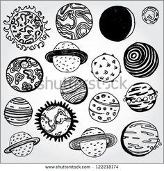 planet drawing - Поиск в Google