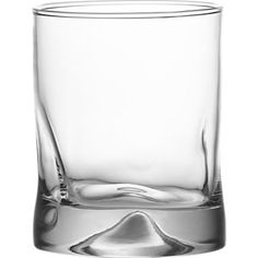 Crate & Barrel Impressions Double Old Fashioned Glass