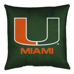 Miami Hurricanes Toss Pillow - LR