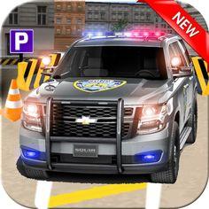 #NEW #iOS #APP Real police Car Parking 3D Game - Ahmed Ali Malik