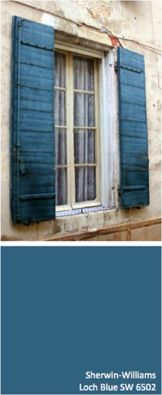 .sherwin-williams : loch blue.