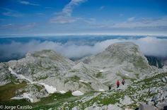Hacia el pico Espelunga, Pirineos