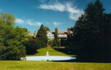 Shaw Hall (distant rear view), Mount Ida College