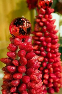 Christmas (strawberry) Tree