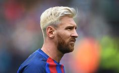 Lionel Messi of Barcelona during the International Champions Cup series match between Barcelona and Celtic at Aviva Stadium on July 30,…