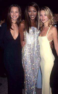 "Christy, Naomi, Kate -- ""Haute Couture"" Theme (1995)"