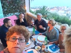 Selfie prima  della cena