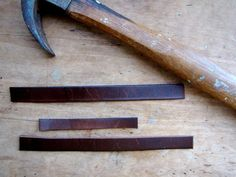 How To Make Drawer Pulls From A Used Belt