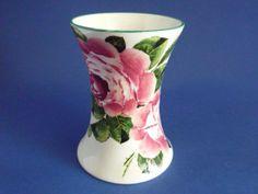 Wemyss Ware 'Cabbage Roses' Beaker Vase c1910