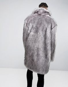 Buy ASOS Faux Fur Overcoat at ASOS. With free delivery and return options (Ts&Cs apply), online shopping has never been so easy. Get the latest trends with ASOS now. Fashion Online, Men's Fashion, Mens Fur, Fur Jackets, Fur Coats, Faux Fur, Collars, Latest Trends, Asos