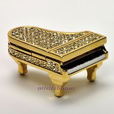 Estee Lauder GLITTERING GRAND PIANO Compact for Solid Perfume 2007 Collection