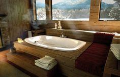 Ideen für Badgestaltung- Badewanne Design wird zum Blickfang im Bad