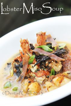 lobster miso soup recipe