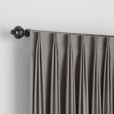 Home Curtains, Grey Curtains, Curtains Living, Curtain Patterns, Curtain Designs, Window Treatments Living Room, Curtain Styles, Elegant Curtains, Custom Drapes