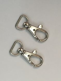 Alloy Swivel Bolt-Snap Hooks 2 Per by SewingSuppliesUk on Etsy