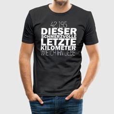 Geschenk für Läufer oder Läuferin - Männer Slim Fit T-Shirt