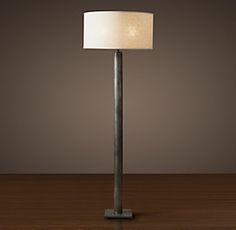 Column Floor Lamp Cylindrical Column Floor Lamp  Home Furnishings  Pinterest  Floor