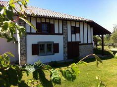 Construction d'une villa basque en Brique Monomur par l'entreprise Castagnet